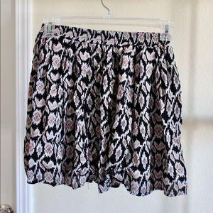 Patterned Brandy Melville Skirt